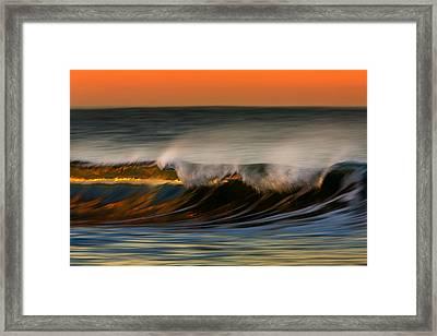 Wave 73a1761 Framed Print