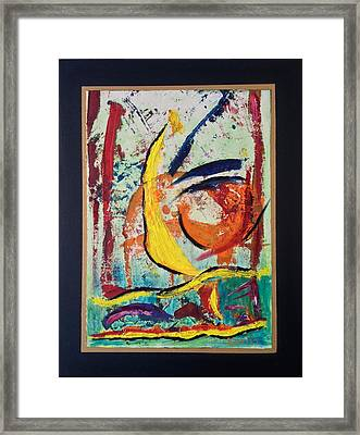 Wave Action Framed Print by Karin Eisermann