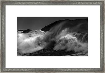 Wave Framed Print by Alasdair Turner