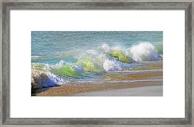 Wave  Framed Print by Betsy Knapp