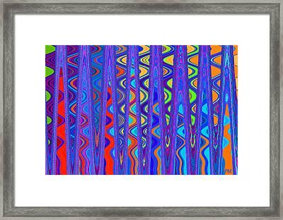 Wave Beyond A Wave Framed Print