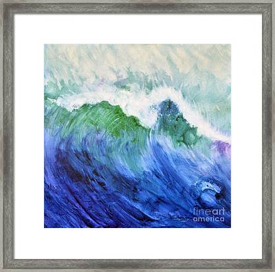 Wave Dream Framed Print