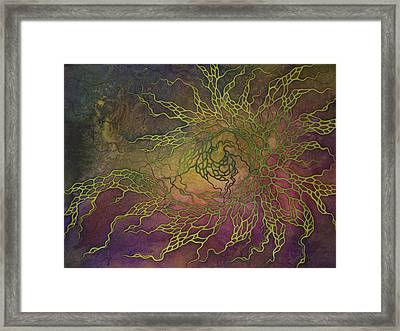Wave Framed Print by Ellen Starr