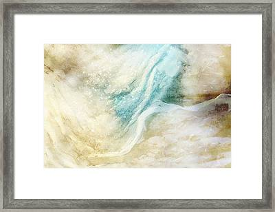 Wave Framed Print by Gun Legler