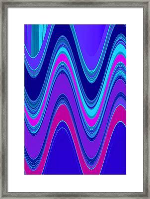 Wave II Framed Print