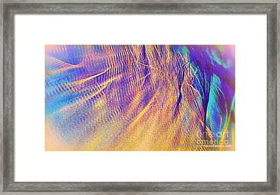 Wave Framed Print by JCYoung MacroXscape