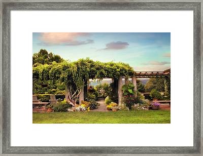 Wave Hill Views Framed Print by Jessica Jenney