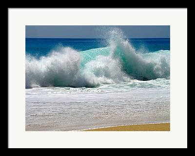 Ocean Energy Framed Prints