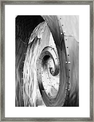 Wave Framed Print by Niels Nielsen