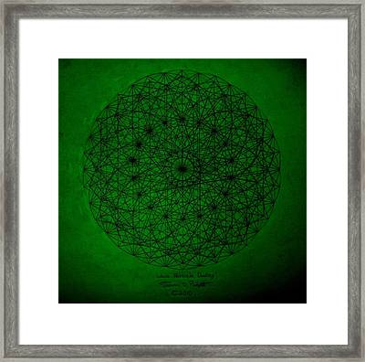 Wave Particle Duality II Framed Print by Jason Padgett