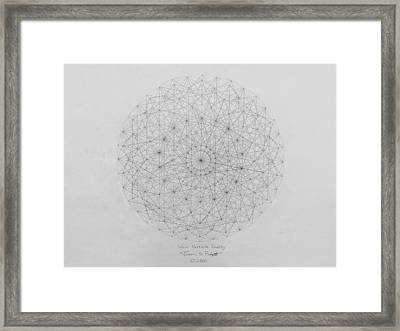 Wave Particle Duality Original Framed Print