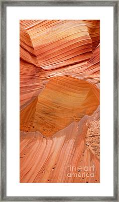 Wave Reflex Framed Print
