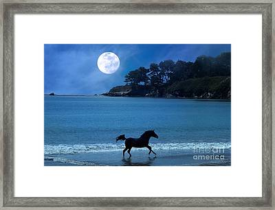 Wave Runner Framed Print by Stephanie Laird