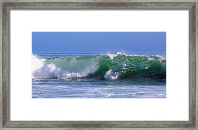 Wave Study 97 Framed Print