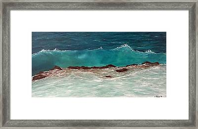 Wave Framed Print by Svetla Dimitrova