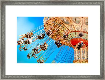 Wave Swinger  Framed Print