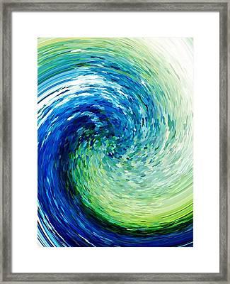 Wave To Van Gogh Framed Print