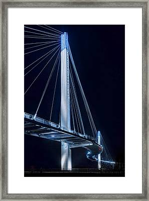 Wavelength Plus Or Minus 460 Nm Framed Print by Nikolyn McDonald