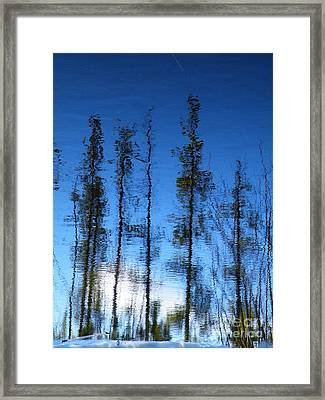 Wavering Framed Print