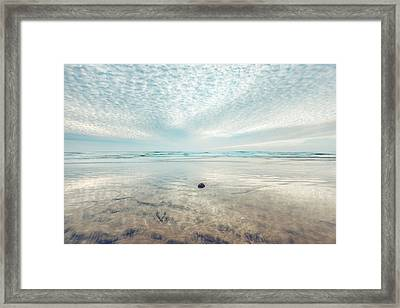 Waves All Around Framed Print