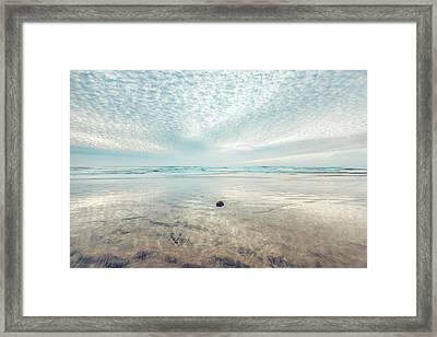 Waves All Around Framed Print by Alexander Kunz