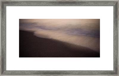 Waves Framed Print by Bradley R Youngberg