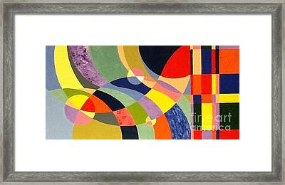 Waves Framed Print by Hang Ho