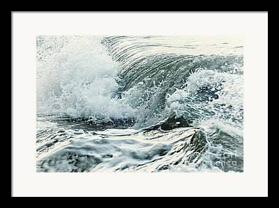 Ocean Spray Framed Prints