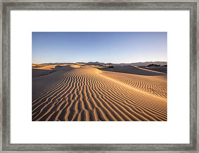 Waves In The Distance II Framed Print by Jon Glaser