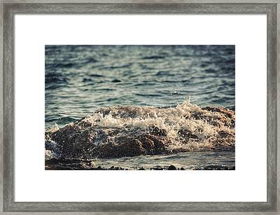 Waves In Time IIi Framed Print