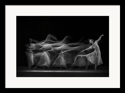 Ballet Dancers Photographs Framed Prints