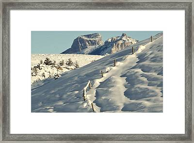 Waves Of Delight.. Framed Print