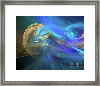 Waves Of Grace Framed Print