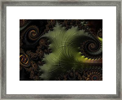 Waves Of Resonance Framed Print
