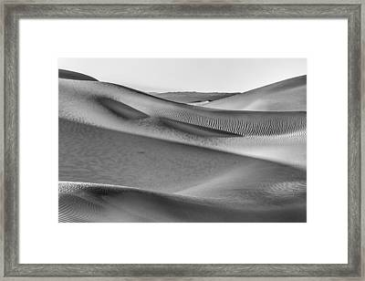 Waves Of Sand IIi Framed Print by Jon Glaser