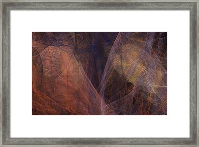 Waves Of The Heart Framed Print by Constance Krejci