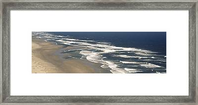 Waves On The Beach, Florence, Lane Framed Print