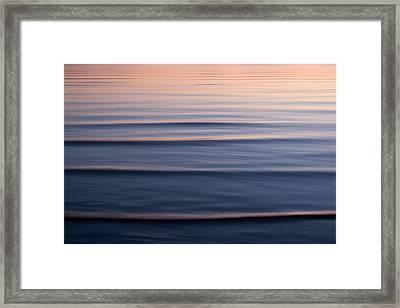 Waves On The Great Salt Lake Framed Print by Phil Schermeister