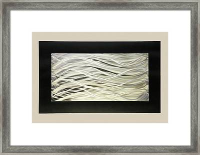 Waves Framed Print by Rick Roth