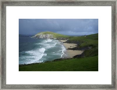 Waves Ring Of Dingle Framed Print