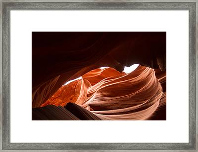 Waves  Framed Print by Tracey Hunnewell