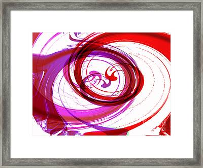 Circling Grace 3 Framed Print