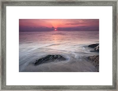Wavy Day Framed Print by Jon Glaser