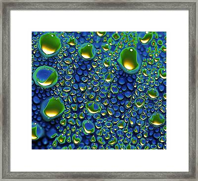 Wax Holds Up Framed Print