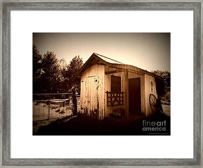 Way Back In The Day Framed Print by Deborah Fay