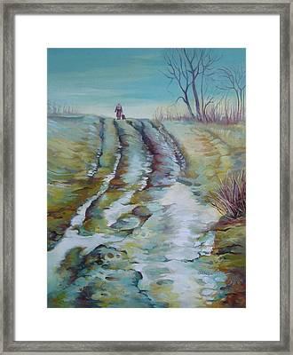 Way Home Framed Print by Elena Oleniuc