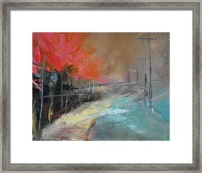 Way Home Ix Framed Print by David Figielek