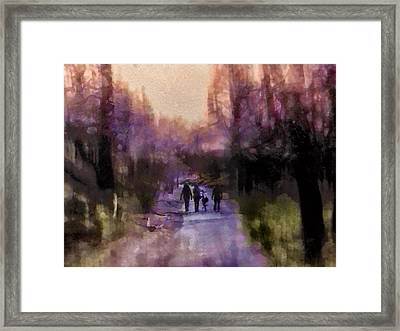 Way Home Framed Print by Madeleine Assink