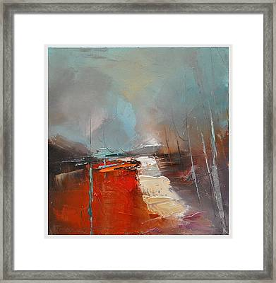 Way Home V Framed Print by Dafarte