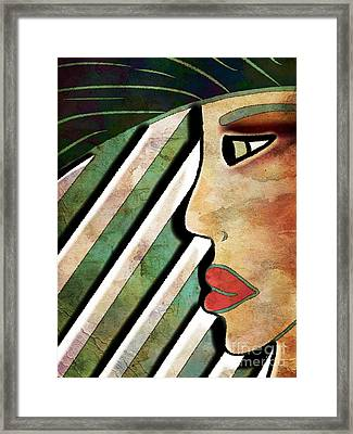 Way Of The Wild Framed Print by Angelica Smith Bill